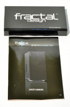 Fractal Design Define R4 - prezentare accesorii