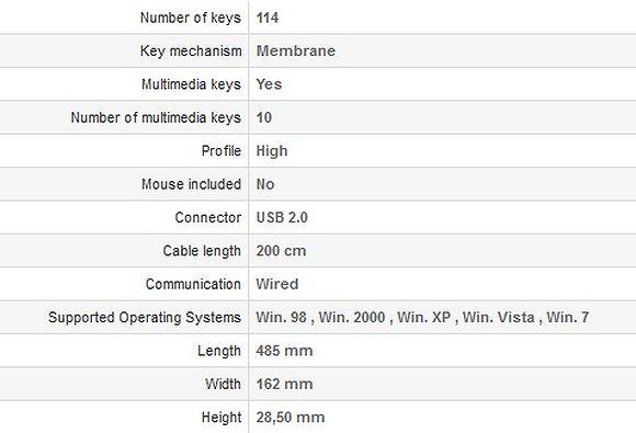 Natec Genesis RX55 - specificatii