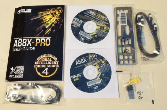 ASUS A88X-PRO - accesorii