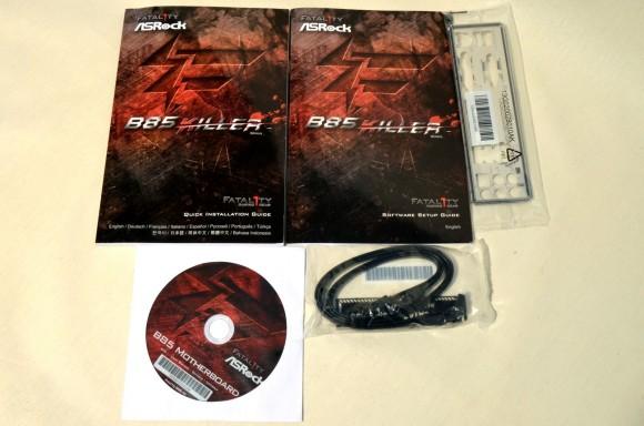 ASRock Fatal1ty B85 Killer - accesorii