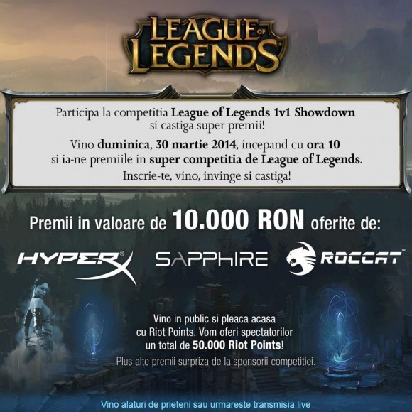 Concurs League of Legends PC Garage