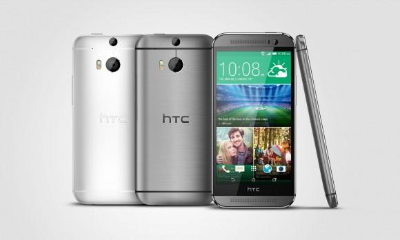 HTC One (M8) Gunmetal Silver