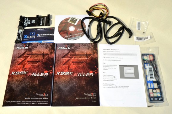 ASRock Fatal1ty X99X Killer - accesorii