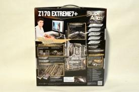 ASRock Z170 Extreme7+ - ambalaj spate